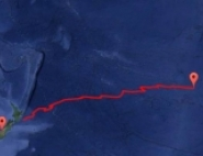 EUSO-SPB set down in the Pacific Ocean after over 12 days in the air