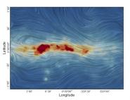 PILOT cartographie le champ magnétique au cœur de la Voie lactée