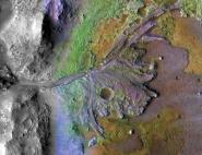 Le cratère Jezero : site d'atterrissage du rover Mars 2020