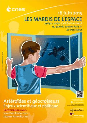Mardi de l'espace du 16 juin 2015