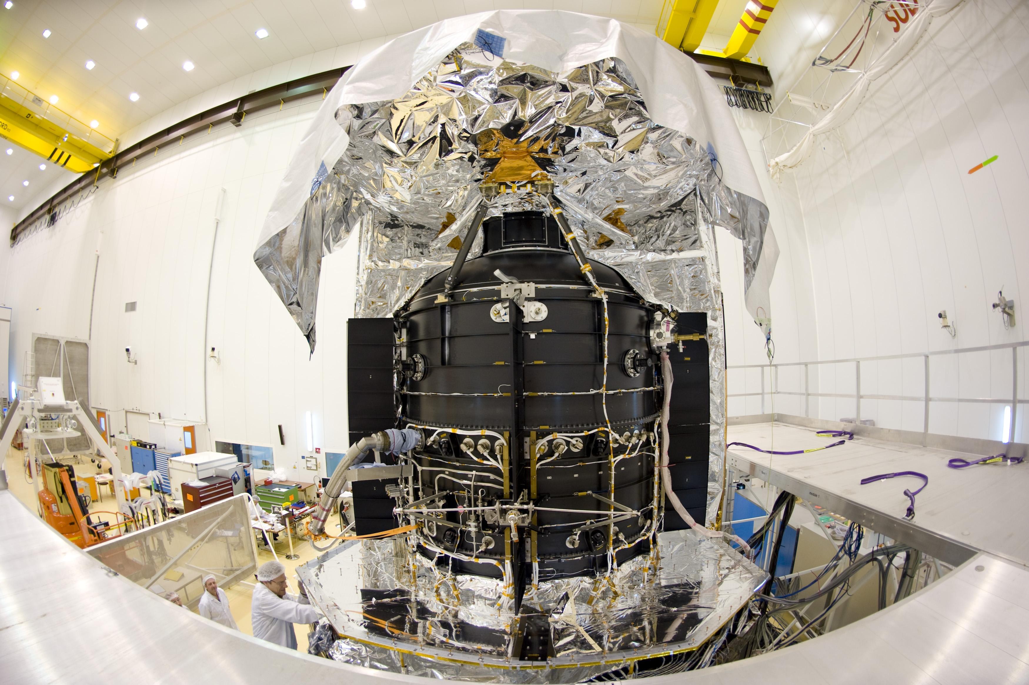 Le miroir du télescope Herschel