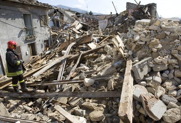 Image d'un séisme
