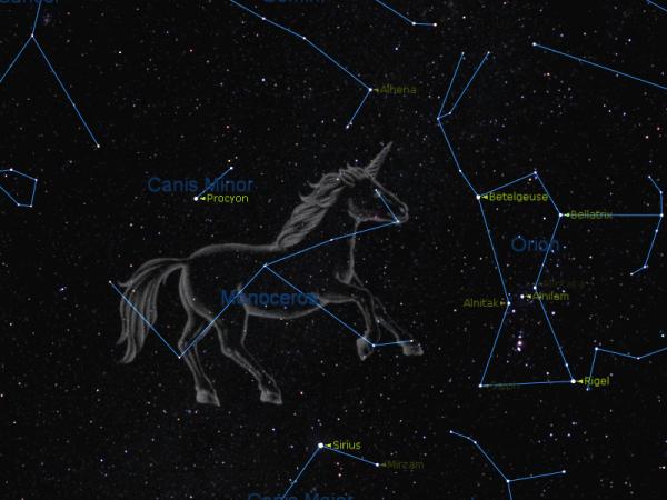 Constellation de la Licorne