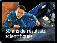 Logo 50 ans de résultats scientifiques