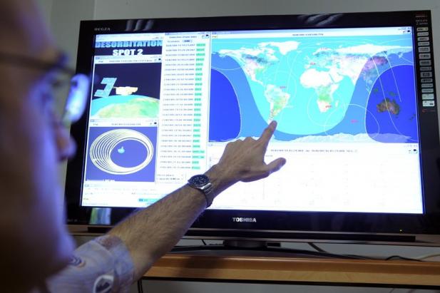 La désorbitation de Spot 2 a démarré le 16 juillet 2009 - Crédit : CNES