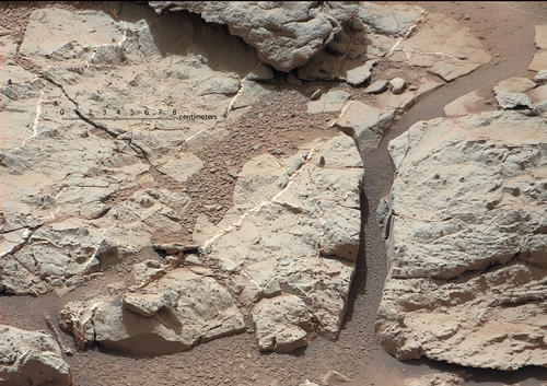 Du gypse sur Mars