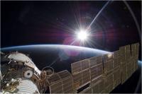 Expose à l'extérieur de l'ISS