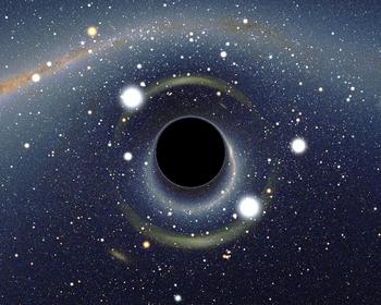 Trou noir stellaire - crédit : Wikipédia