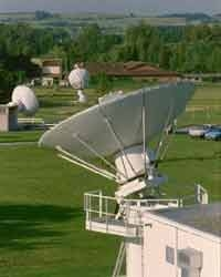 La station de poursuite d'Issus Aussagel - Crédit : CNES