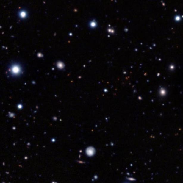 Amas de galaxie évolué le plus ancien