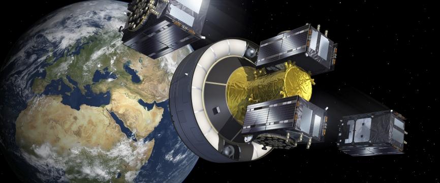 Galileo : les 4 nouveaux satellites sont à leurs postes !