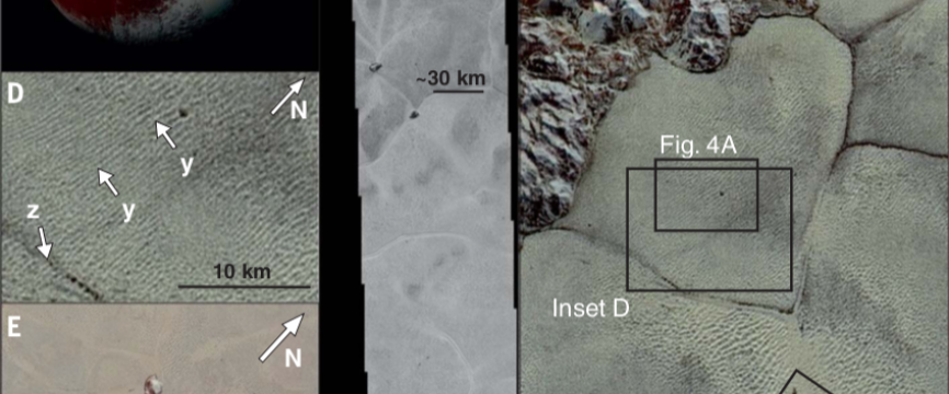Pluto is covered with unexpected dunes of methane ice