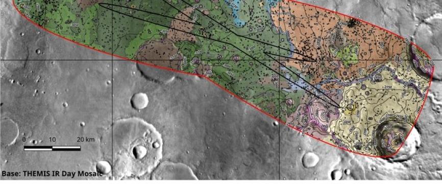 Oxia Planum est recommandé comme site d'atterrissage pour ExoMars 2020