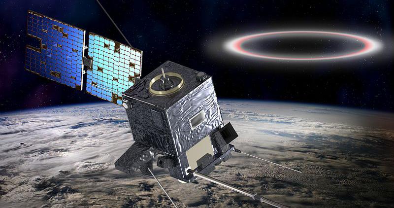 Le satellite TARANIS. Crédits : CNES/Ill.D. Ducros.