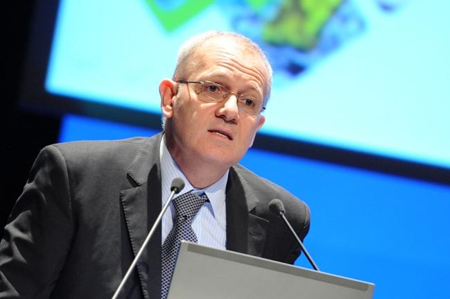 Jean-Yves Le Gall, président du CNES. Crédits : Rachel Barranco.