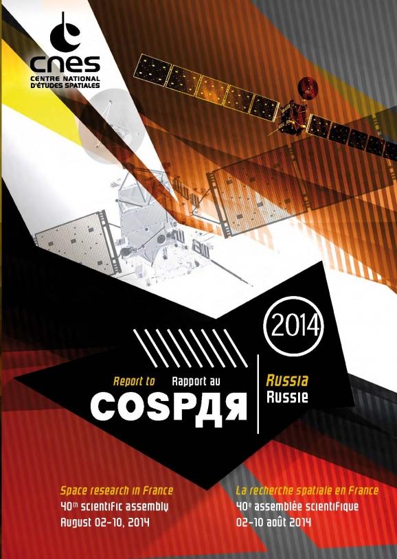 Couverture du rapport au COSPAR 2014