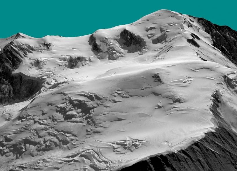 Versant français du Massif du Mont-Blanc