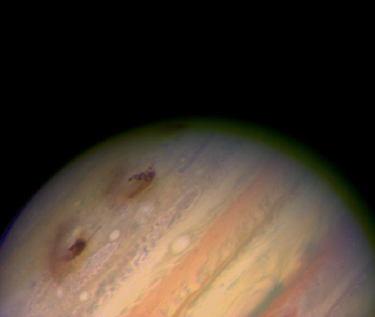 Impact de Shoemaker 9 sur Jupiter