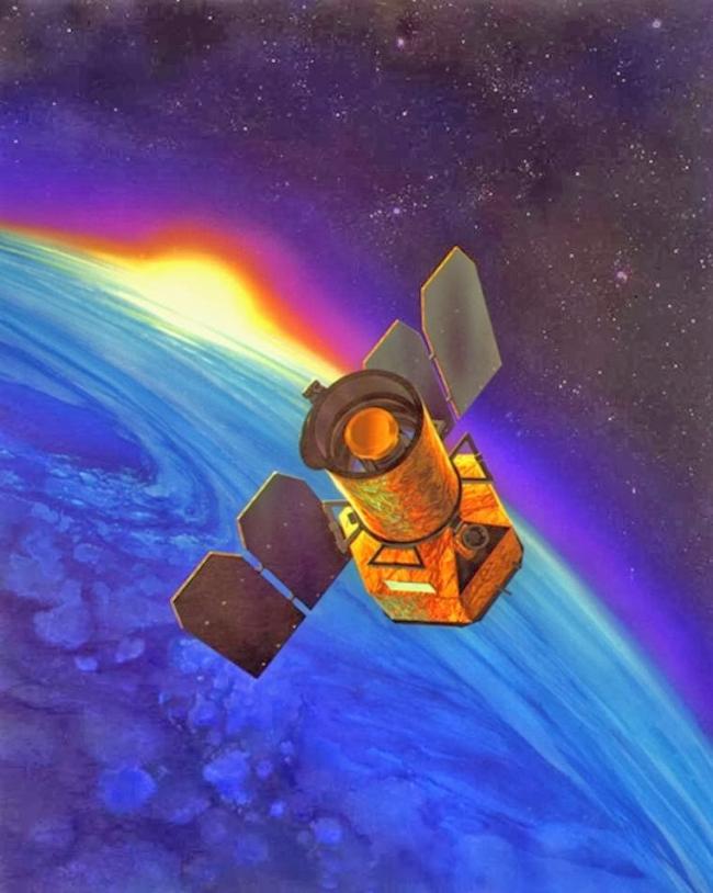 Le satellite GALEX